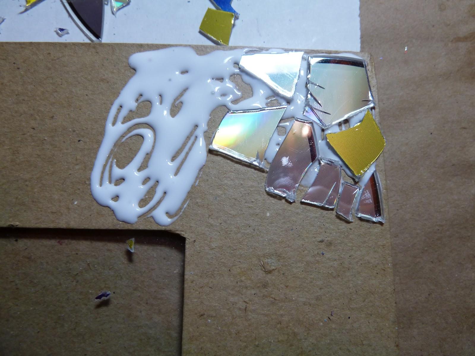 Рамка для фото своими руками из для дисков