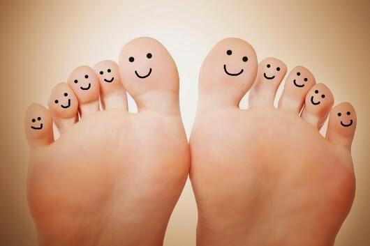 Desinfektion von barfußbegangenen Fußböden