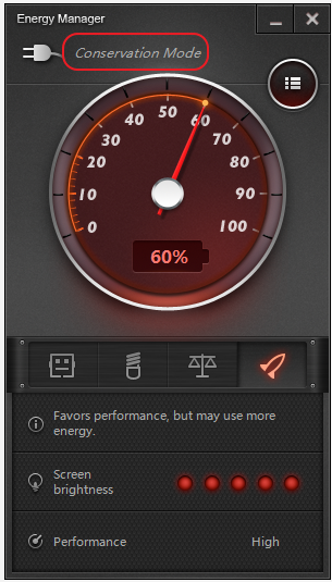 Lenovo Energy Management Plugged In Not Charging