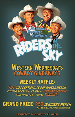 "Riders In The Sky Starts ""Western Wednesdays"" Residency at The Station Inn"