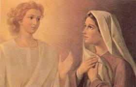 Maria Menerima Kabar dari Malaikat Gabriel