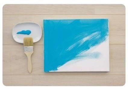 Cara Membuat Kerajinan Tangan, Lukisan Dinding Dari Daun