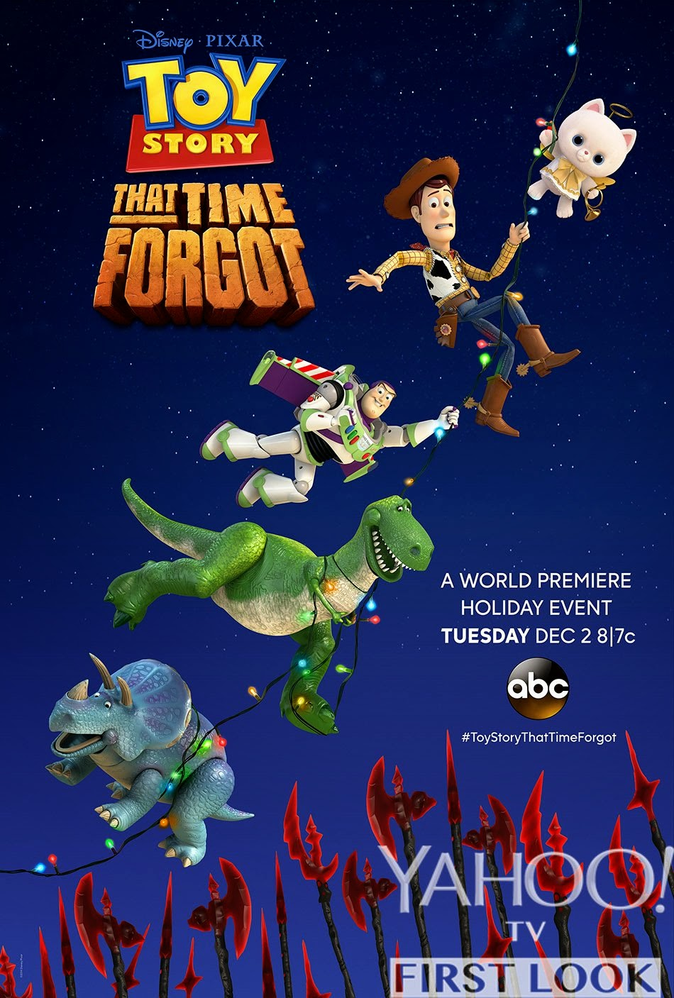toy story that time forgot airs tonight - Toy Story Christmas Movie