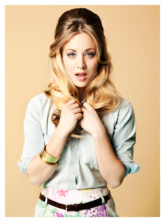 Kaley Cuoco sexy see though Zooey magazine March 2012 issue