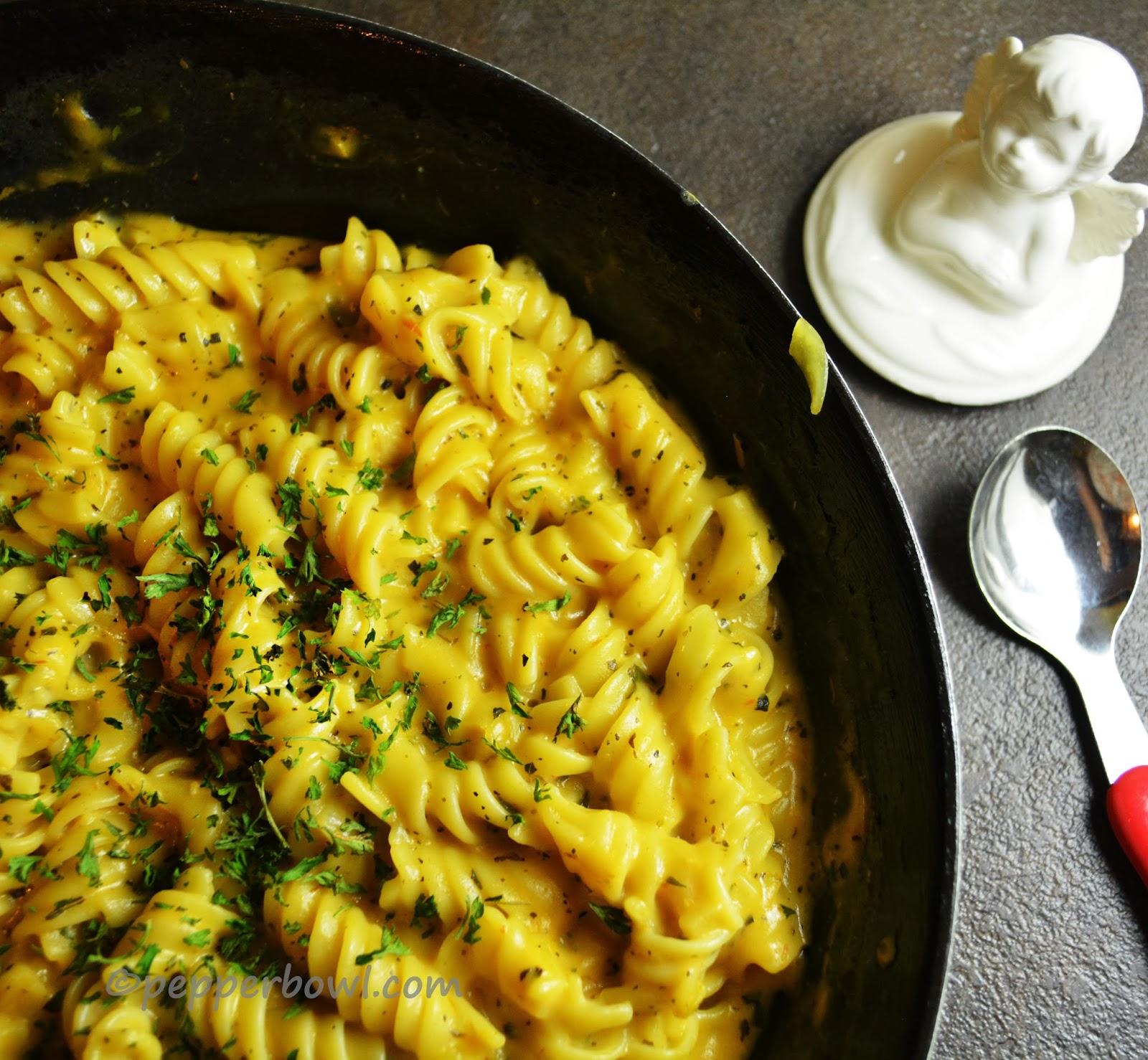 Rich Creamy Buttermilk Rotini Pasta, an easy dinner recipe