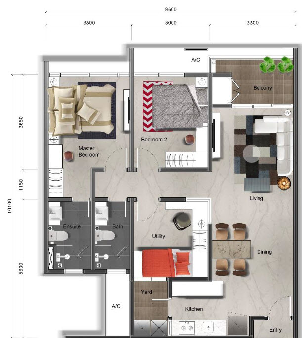 Floor Plan Feng Shui October 2015