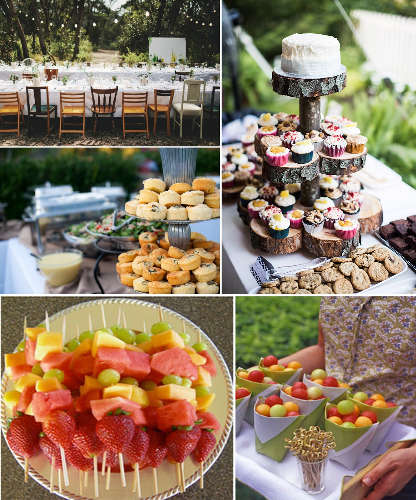backyard party menu ideas | backyard design and backyard ideas