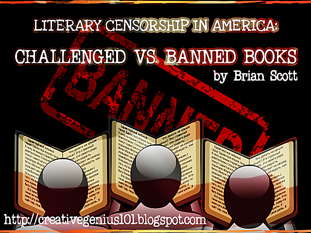 Challenged vs. Banned Books