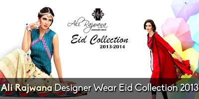 Ali Rajwana Designer Wear Eid Collection 2013-2014