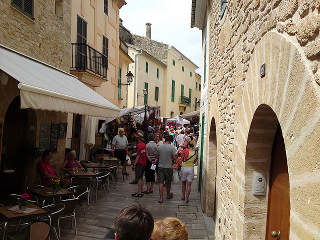 The old town of Alcudia