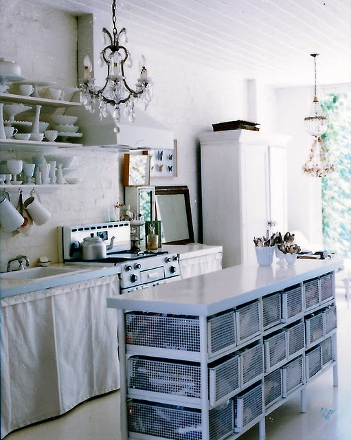 Vintage cottage kitchen inspirations french country - Decoracion vintage cocina ...