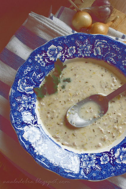 zupa z pora aaaledobre.blogspot.com