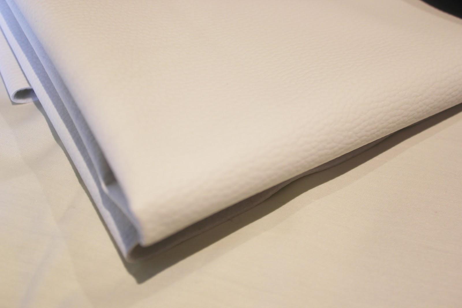 DIY Cómo hacer este maxi-bolso de cuero blanco y negro | | Oh ...