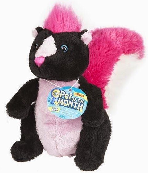 Webkinz Pet of the Month (February 2015): Sassy Skunk