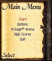 Game Ashen N-Gage 1.0 dan Cheat Bermain