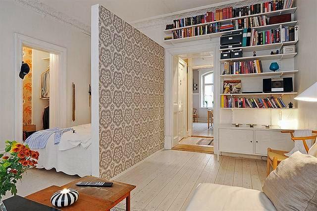 Decotips c mo dividir ambientes en un dormitorio abierto for 30m2 wohnung einrichten