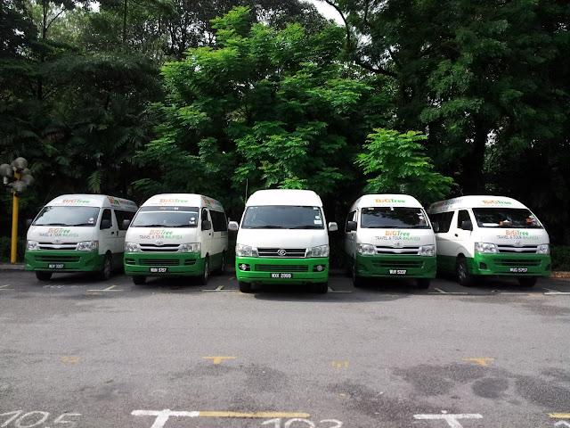 Kuala Lumpur Airport Budget Transport - www.bigtreetours.com