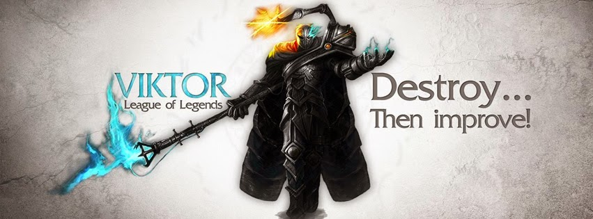 Viktor League of Legends Facebook Cover PHotos