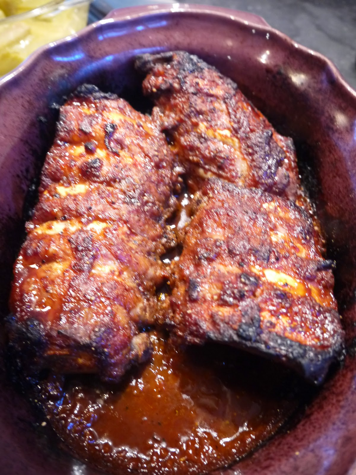 Stephi's Asian  twist spareribs by Appetit Voyage