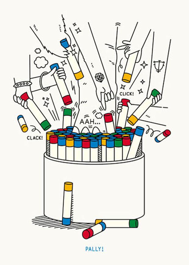 PALLY, PALLY! , juego, juguete,taburete,stool,toy,play, Laura Väinölä, creative,object,colourful ,colorful,sticks,patterns,seat,dibujo,asiento