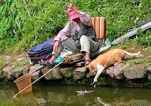 10 прикольных рыбалок