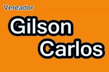 Vereador Gilson Carlos