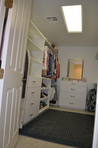 remodel closet left
