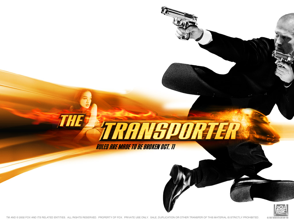 Jason Statham in The Transporter Wallpaper 1 1024 Watch Hollywood Movies Online Free: The Transporter ...