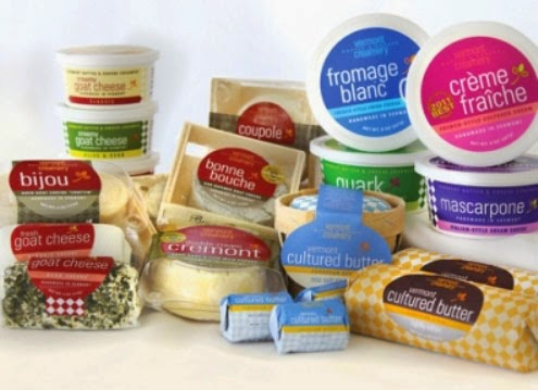 Vermont Creamery products
