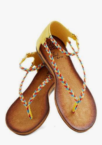 Colorful Flat Sandals