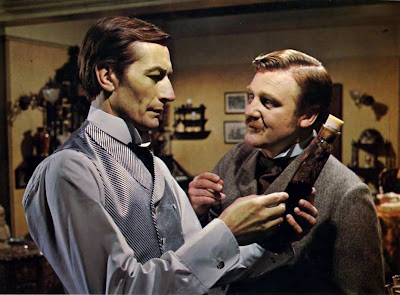 John Neville and Donald Houston in A Study In Terror