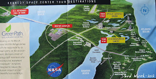 kennedy space center map, bus tour, destination, launch pad, saturn, apollo, building
