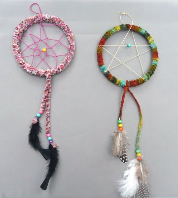 Serenity knits stash busters for Ideas for making dream catchers