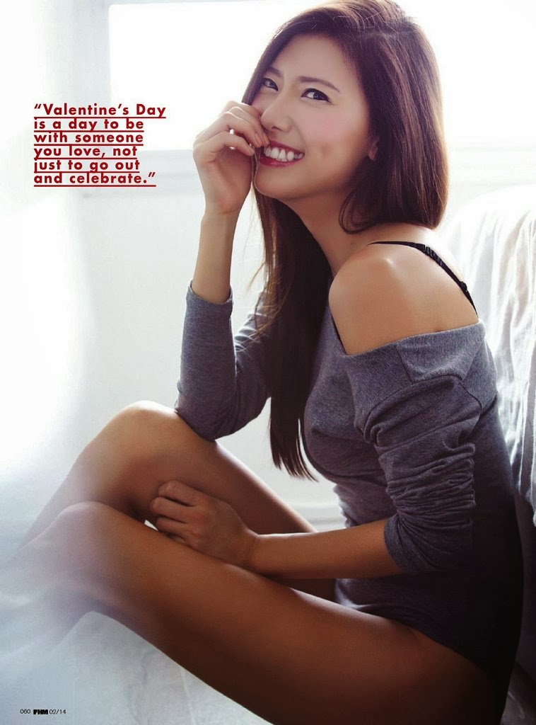 Yunji HQ Pictures FHM Singapore Magazine Photoshoot February 2014 By Nicky Loh