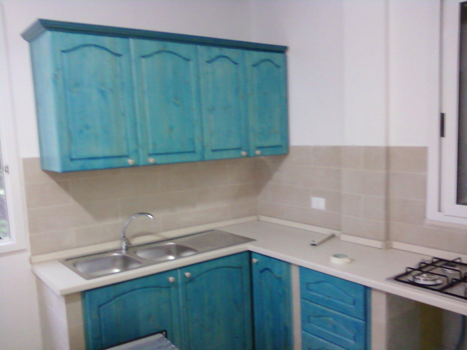 Fai da te hobby legno cucina in muratura - Rinnovare ante cucina fai da te ...