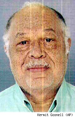 Mugshot of Kermit Gosnell, showing a balding man of about 60 years of age