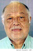 mug shot of serial killer / abortionist Dr. Kermit Gosnell