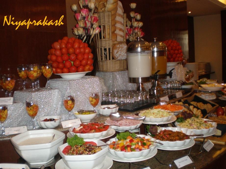 Niya's World: Buffet lunch @ Hotel Asiana, Chennai