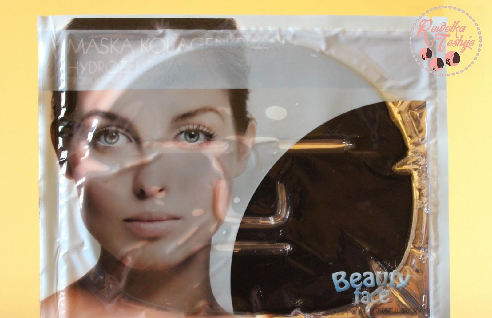 BeautyFace Antybakteryjna maska kolagenowa - oczyszczająca i zmniejszająca blizny - jak wypadła?