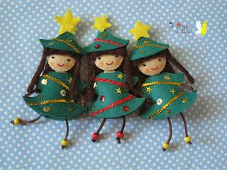 broche-fieltro-navidad-muñeca-árbol-navidad-christmas-tree