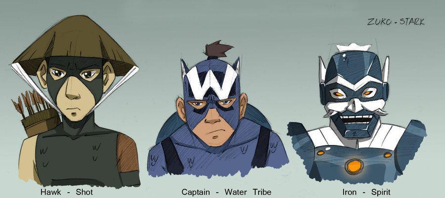 Avatar los vengadores the avengers avatar