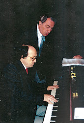 Roberto Achával junto a Juan Carlos Polizzi