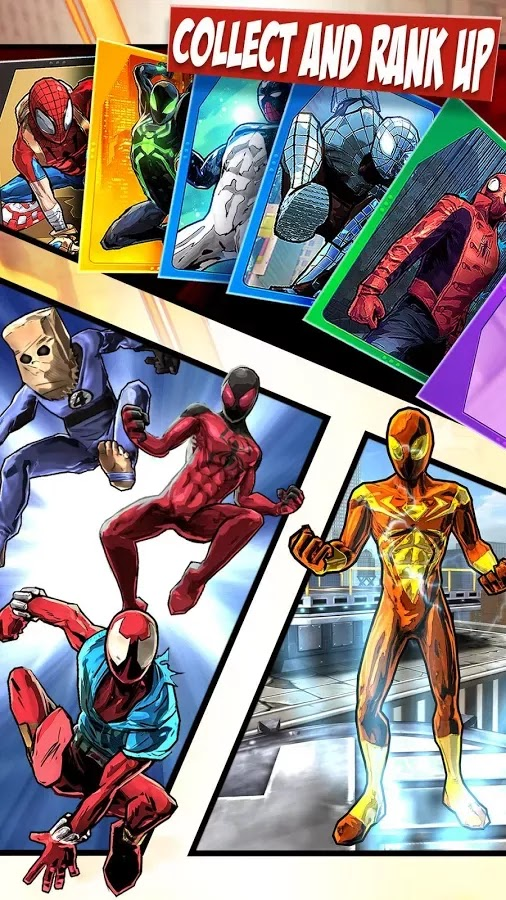 Spider-Man Unlimited v1.0.0i Mod [Infinite Viles & Energy]