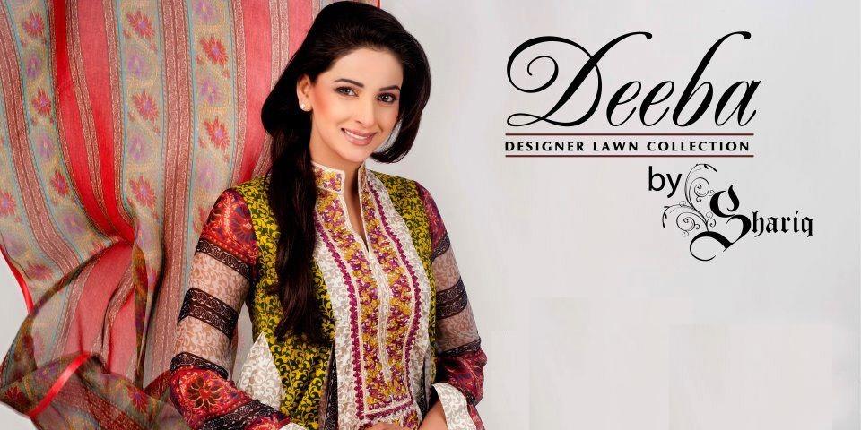 deebahummeralawncollection2012byshariq28329 - Deeba Designer Lawn 2012