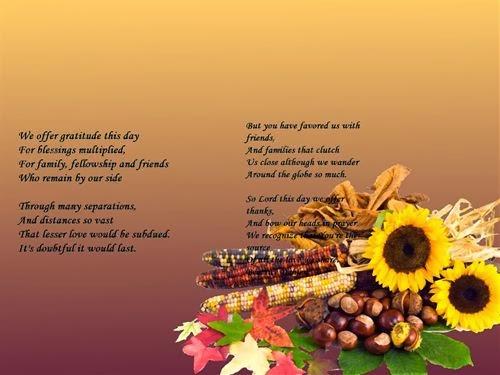 Best Military Family Thanksgiving Poem