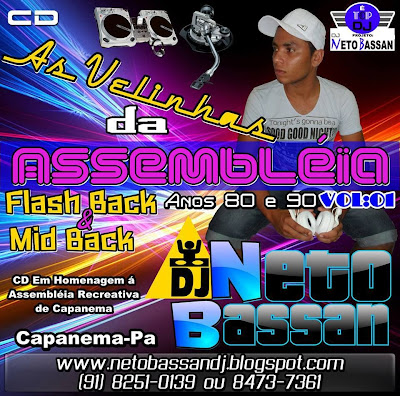 CD AS VELINHAS DA ASSEMBLÉIA VOL:01 ESP. FLASH BACK & MID BACK
