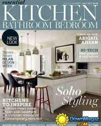 Essential Kitchen Bathroom Bedroom Home Interior Design Magazine