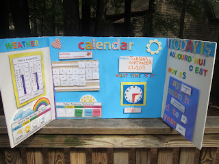 A Lifestyle Of Learning Calendar And Weather Board