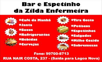BAR E ESPETINHO DA ZILDA ENFERMEIRA