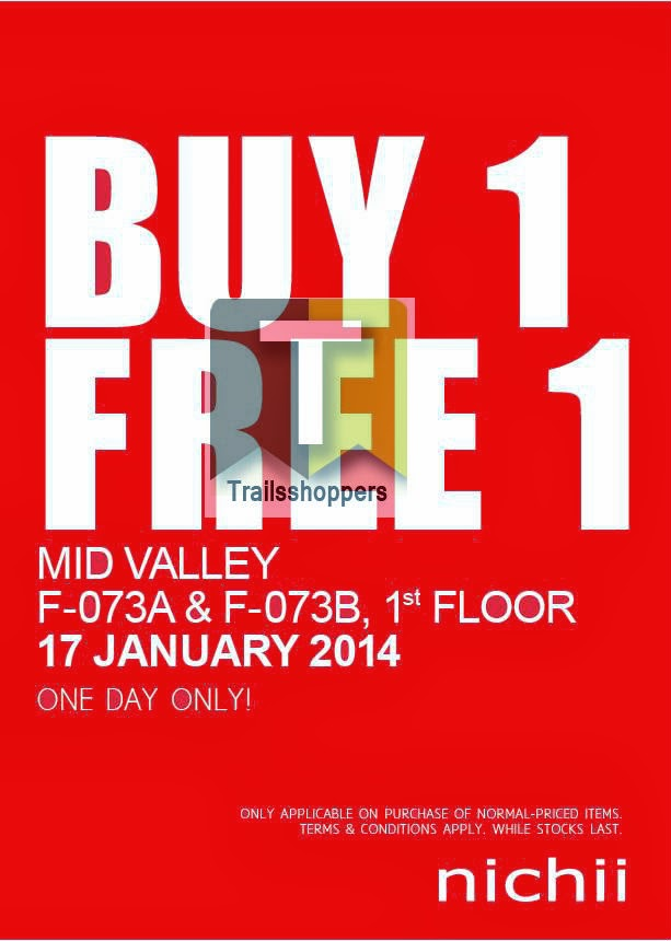 Mid Valley nichii Buy 1 FREE 1 Promotion